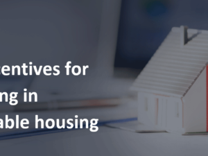 Tax benefits for investing in affordable housing